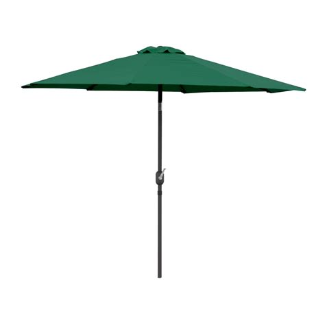 9 ft patio tilt umbrella crank market aluminium pool