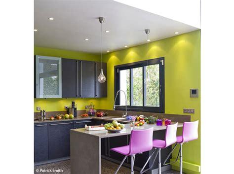photo decoration cuisine vert anis et prune 9 jpg