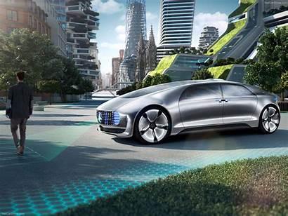 Mercedes Selbstfahrende Autos Mobilbranche Zukunft Stellt Vor