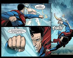 Superman VS Zeus Injustice Gods Among Us Comicnewbies