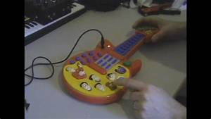 Circuit Bent Wiggles Guitar By Freeform Delusion
