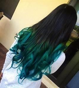 Teal Blue Ombre Hair Color Archives - Vpfashion Vpfashion