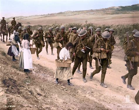 world war 1 in color canada s war flashbak