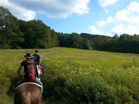 rides trail mountain horseback virginia west valley canaan guided