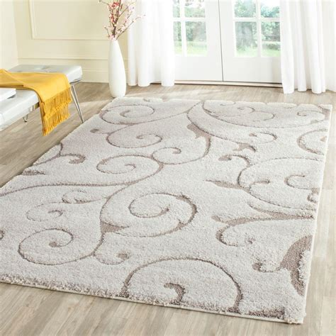 safavieh florida rug safavieh florida shag beige 5 ft 3 in x 7 ft 6 in