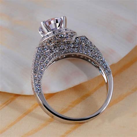 Highend Luxury Jewelry 925 Silver Inlaid Cubic Zirconia