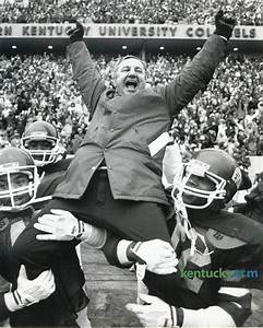EKU football coach Roy Kidd, 1982 | Kentucky Photo Archive