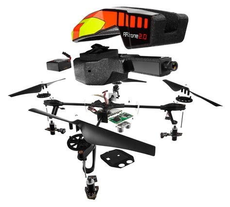 parrot ardrone  quadricopter