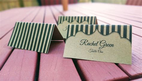 great papers place cards template our printable place cards place card me