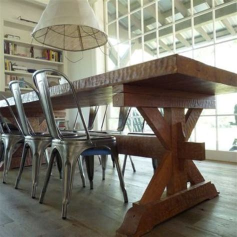 farm table with metal chairs farmhouse table metal chairs design bookmark 21328