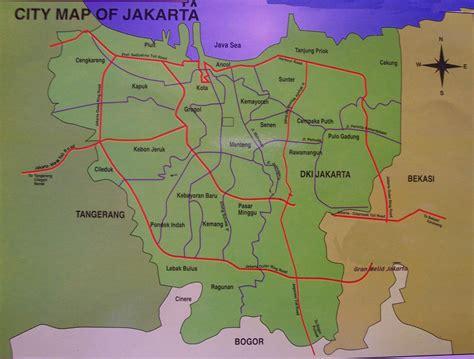 jakarta map high resolution