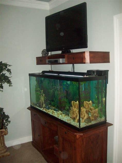 tv shelf  fish tank stand  kjwoodworking