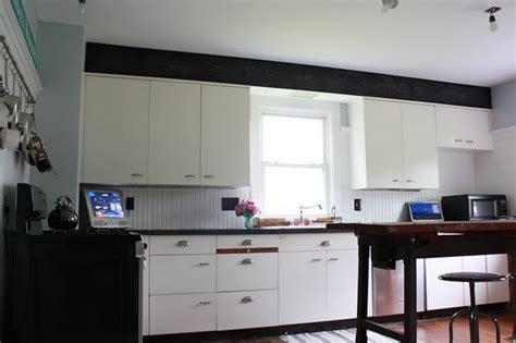 chalkboard paint kitchen soffit intriguing home diy