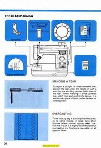 White 305 Sewing Machine Instruction Manual