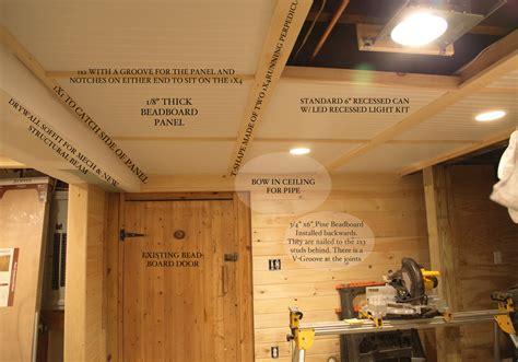Inexpensive Basement Ceiling Ideas