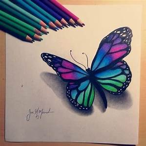 Kleiner Schmetterling Tattoo : butterfly drawing butterflies and dragonflies in 2019 ~ Frokenaadalensverden.com Haus und Dekorationen