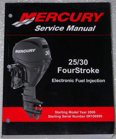 free online car repair manuals download 2006 mercury mountaineer seat position control 2006 mercury 25 30 hp four 4 stroke efi outboard shop service manual 25hp 30hp factory repair