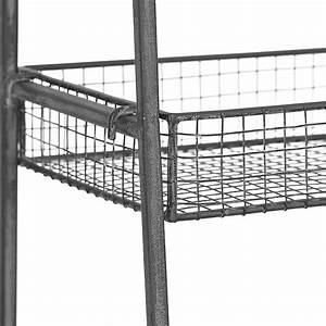 Metal Basket 4-Tier Stand Kirklands