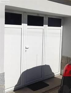 Porte De Garage 3 Vantaux : porte de garage 3 hublots avec vantaux rh ne alpes is re equipements industriels avec tranzak ~ Dode.kayakingforconservation.com Idées de Décoration