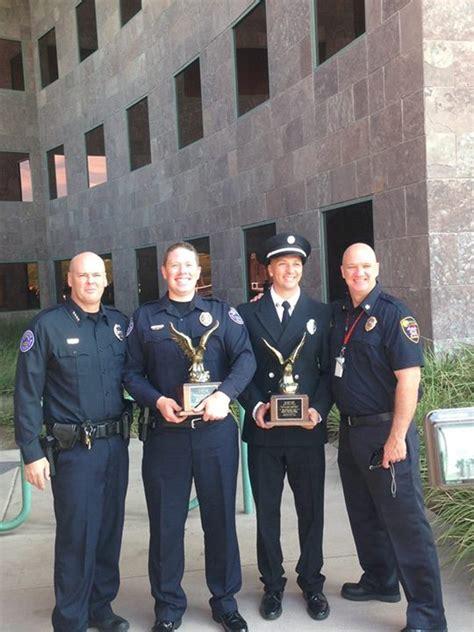 foto de Mesquite officer receives Officer of the Year award St