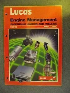 Lucas Engine Management Electronic Ignition  U0026 Fuelling