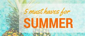Must Haves Sommer 2015 : 5 must haves for summer elizabeth david ~ Eleganceandgraceweddings.com Haus und Dekorationen
