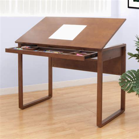 drafting table desk studio designs ponderosa 24 quot x 42 quot wood drawing table 13285