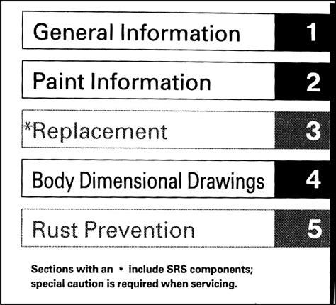 car repair manual download 2006 honda civic parental controls 2006 2011 honda civic body repair shop manual original