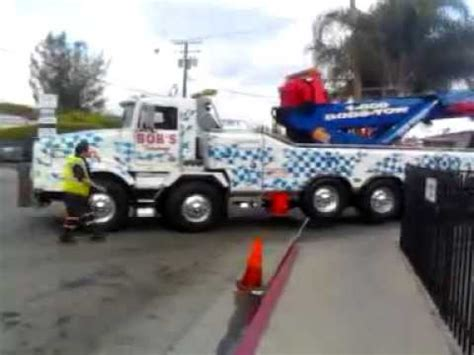 worlds largest rotator tow truck vancouver towing