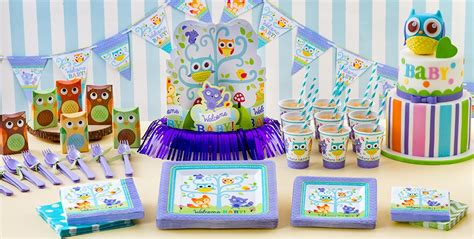 Welcome Baby Party Supplies -woodland