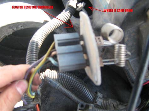 heater blower motor resistor relay    generation  body message boards