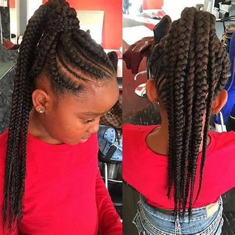 image result for hairstyles with little ponytails and