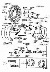 Toyota 4runner Drum Brake Wheel Cylinder Kit  Rear   Cup