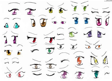 Anime Eyes 2 By Izka197 On Deviantart
