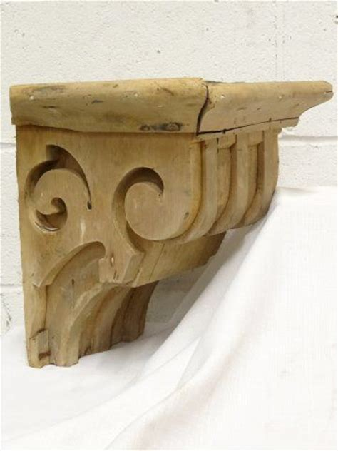 Salvaged Corbels by Columbus Architectural Salvage Salvaged Wood Corbel