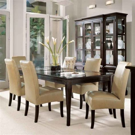 delightful dining table  glass top cool replacement