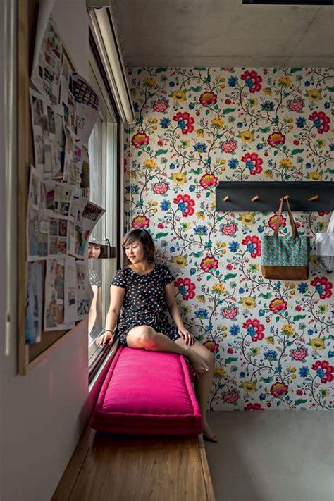 sonhar sofa pequeno cor na decora 231 227 o apartamento pequeno mistura rosa azul e