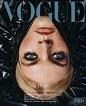 Cover of Vogue Czechoslovakia with Juliane Grüner, January ...