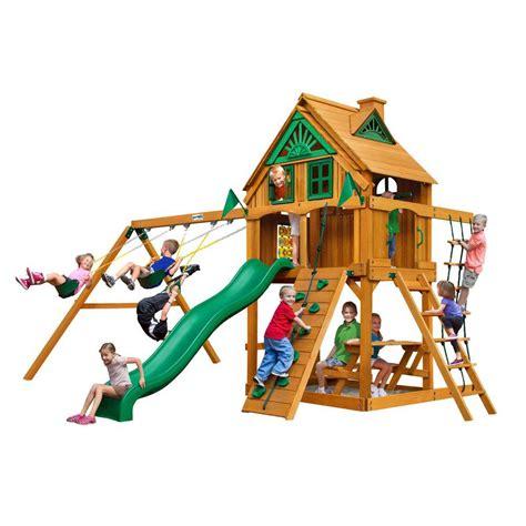Backyard Discovery Cedar Chateau Playhouse by Backyard Discovery Scenic All Cedar Playhouse 36013com