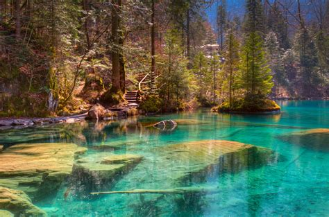 Blausee Lake Interlaken Travel Guide