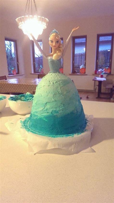 instructions  elsa  frozen cake