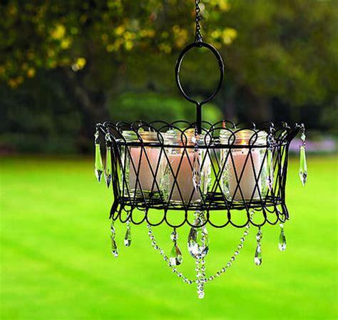 DIY Outdoor Garden Chandelier Round-up
