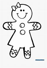 Gingerbread Coloring Pages Clipart Clipartkey sketch template