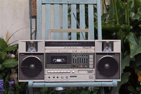 Rare Super Cool Retro Technics Sac05l Ghetto Blaster