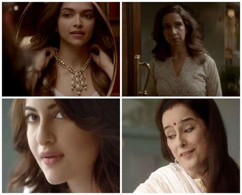 deepika padukone ujjala sonakshi sinha poonam other mother daughter duos featured in ads