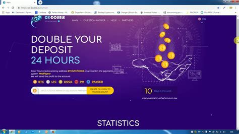 """Double your crypto within 10 minutes payout and time calculation: """"Cx-double.io"""" Doubler Your Bitcoin in 24 Hours Site Paying Now Join Today. - YouTube"""