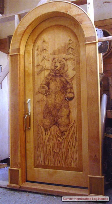 incredible hand carved doors