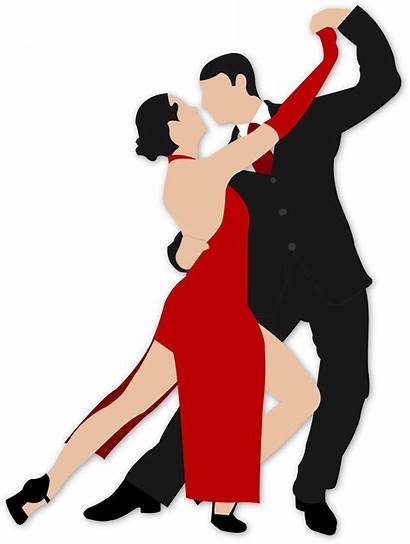 Clip Ballroom Dance Dancing Clipart Tango Dancers