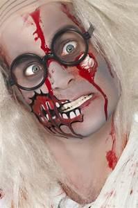 Schminke Auf Rechnung : zombie schminke erwachsene halloween schminke und ~ Themetempest.com Abrechnung