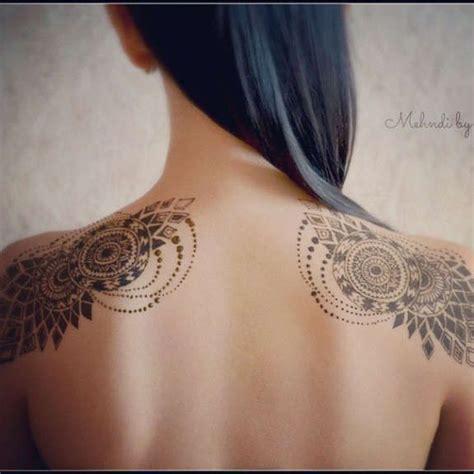 geometric tattoo  inventive wings tattoos designs